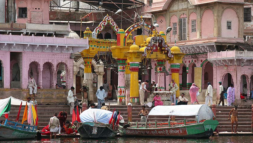 mathura with Chardham package